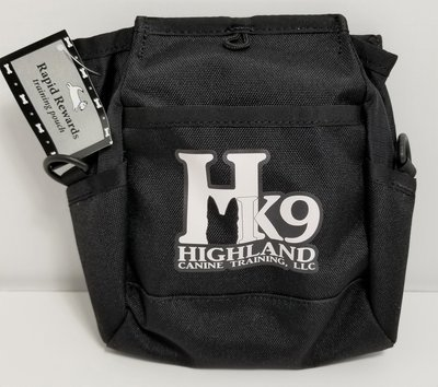 Rapid Rewards Deluxe Dog Training Pouch with Highland Canine Logo