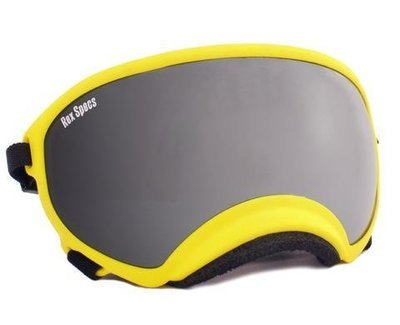 X-Large Rex Specs Dog Goggle (Yellow Frame)