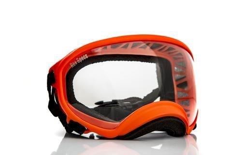 Large Rex Specs Dog Goggle (Orange Frame)