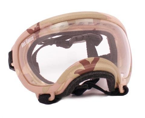 X-Small Rex Specs Dog Goggle (Multi Cam Frame)