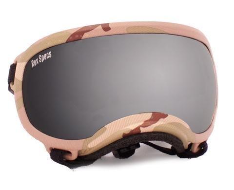 Small Rex Specs Dog Goggle (Multi Cam Frame)