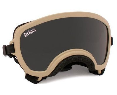 Small WIDE Rex Specs Dog Goggle (Coyote Frame)