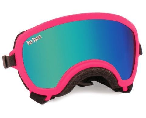 Small WIDE Rex Specs Dog Goggle (Neon Pink Frame)