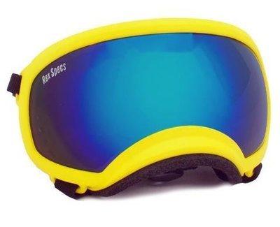 Medium Rex Specs Dog Goggle (Yellow Frame)