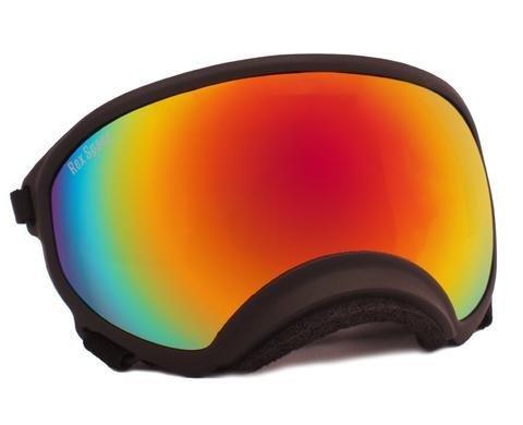 X-Large Rex Specs Dog Goggle (Black Frame)