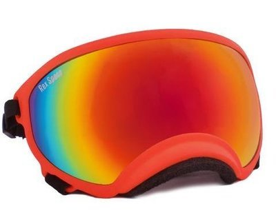 X-Large Rex Specs Dog Goggle (Orange Frame)