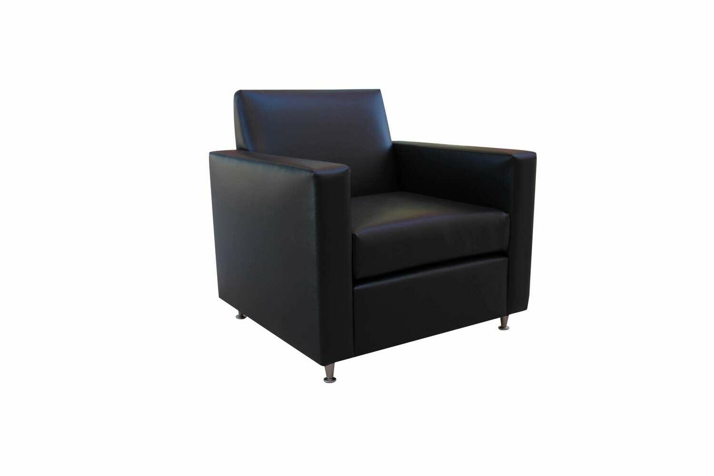 Black Tech Charging Chair