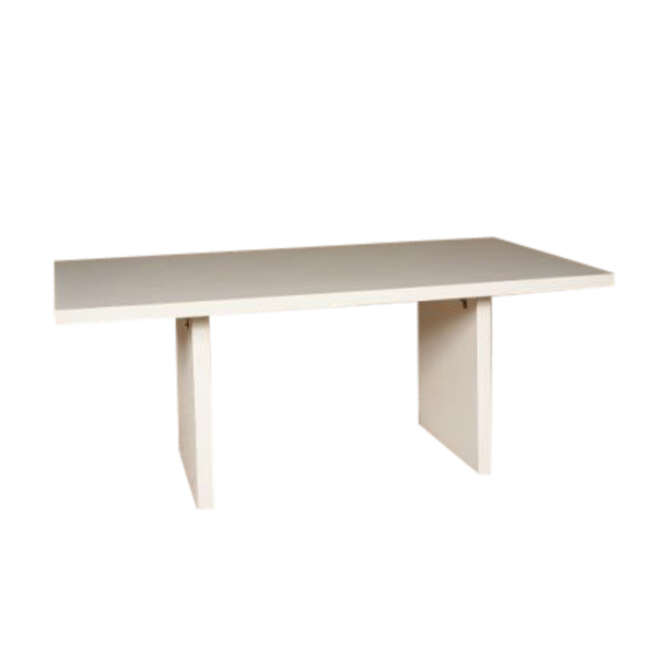 6' White Conference Table 5233