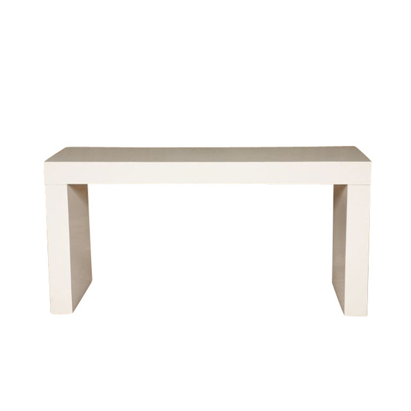 White 5' Parsons Table 5238