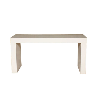 White 5' Parsons Table
