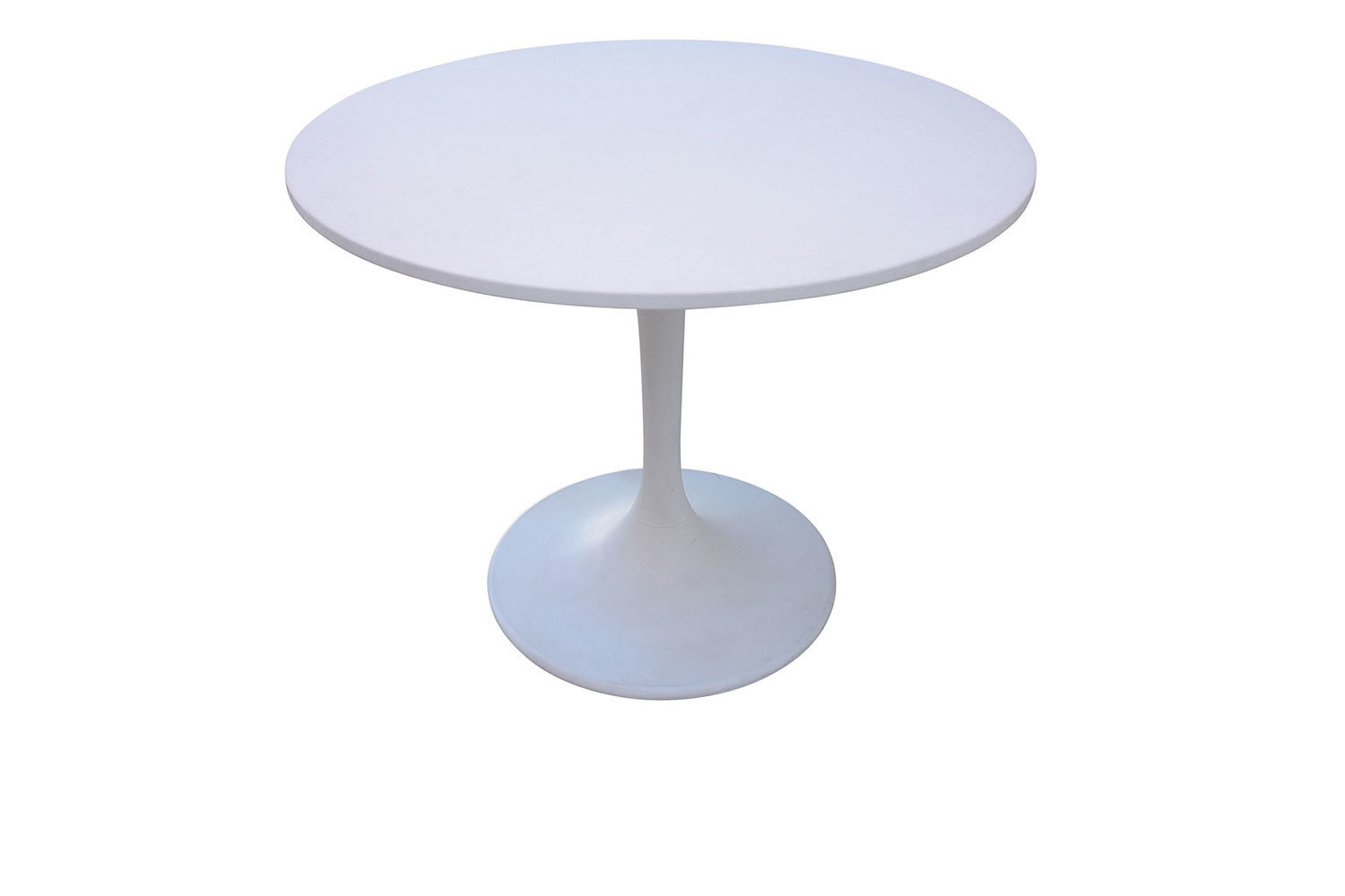 White 42 Inch Table 5230