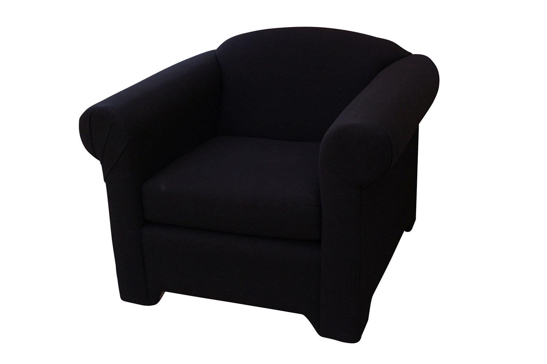 Black Fabric Chair 1201