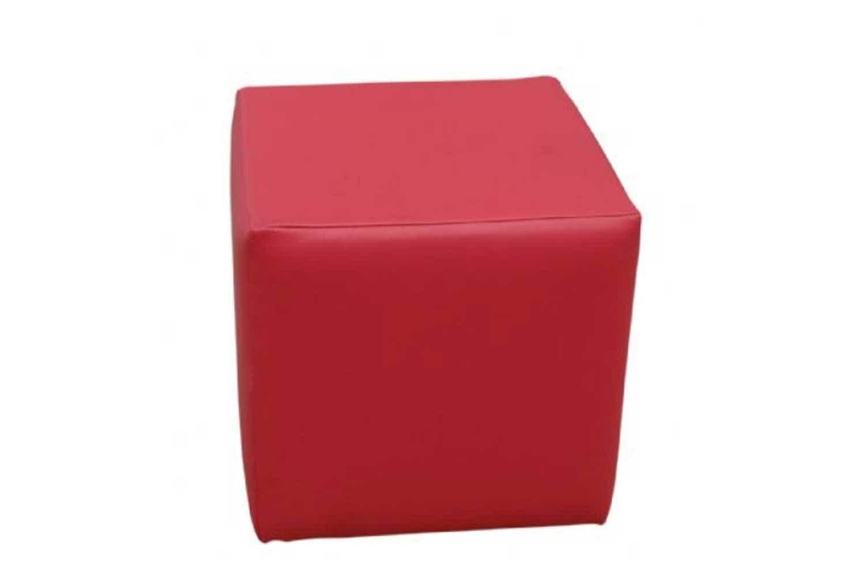 Pink Cube Ottoman 1232