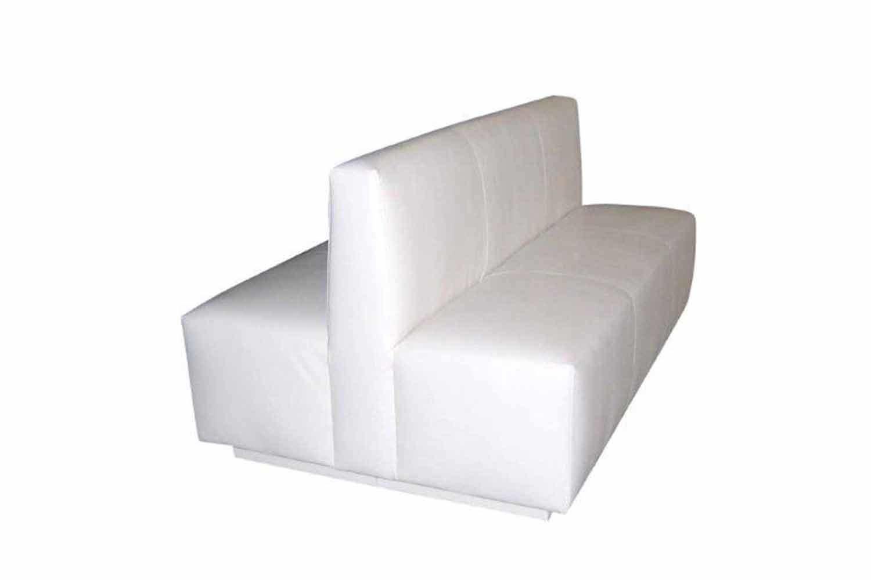 White Double Sofa 1035