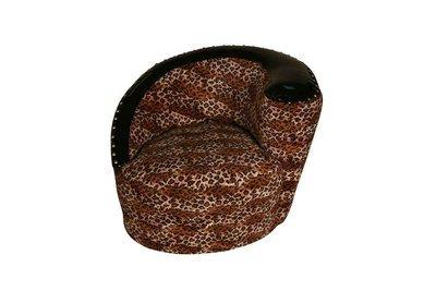 Leopard Round Chair