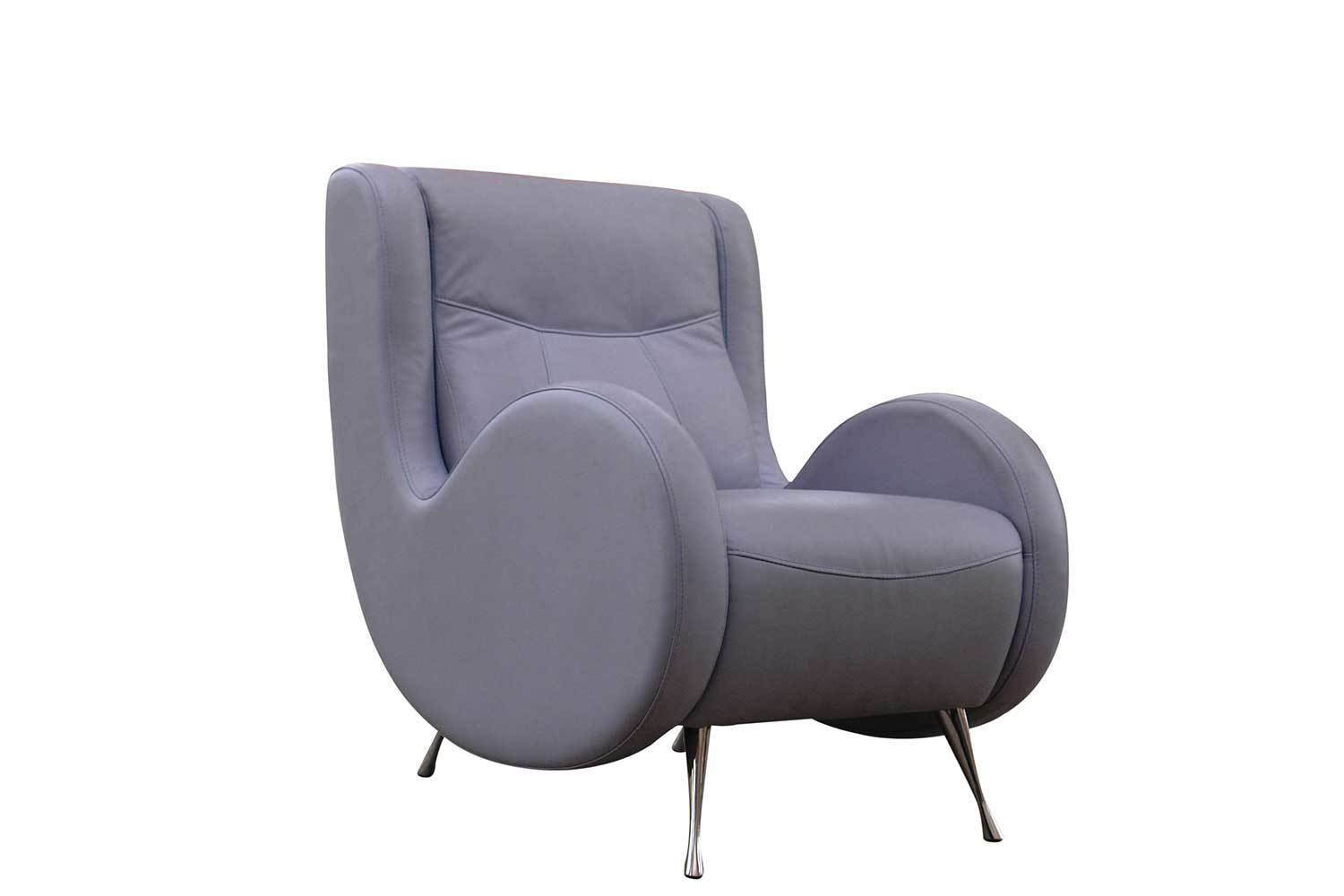 Lilac Tufted Side Chair 1253