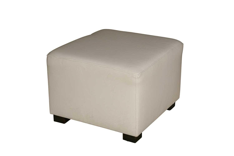 Excellent White Cube Ottoman Creativecarmelina Interior Chair Design Creativecarmelinacom