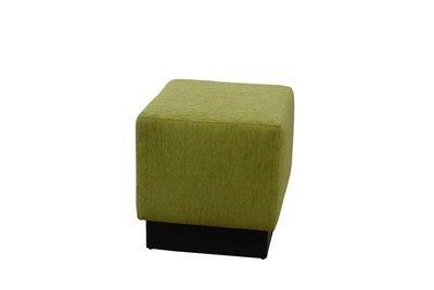 Greenery Cube Ottoman