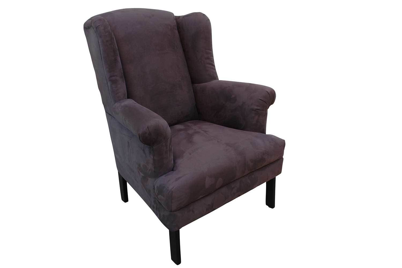 Charcoal Queen Anne Chair 1290