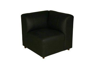 Black Corner Chair