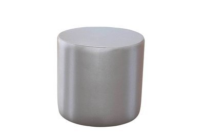 20x20 Brushed Aluminum Accent Table