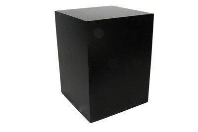 30x30x42 Black Cube Pedestal