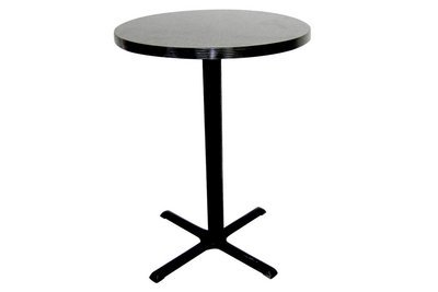 30x44 Charcoal Table Pedestal