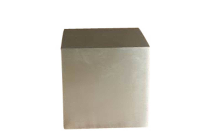 Silver 24x24 Cube Pedestal 2633