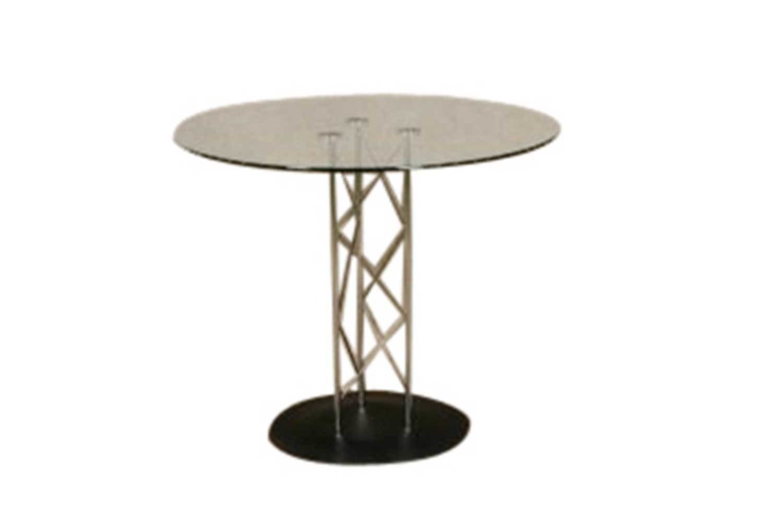 Chrome Glass Table 3002
