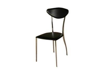 Chrome Black Chair