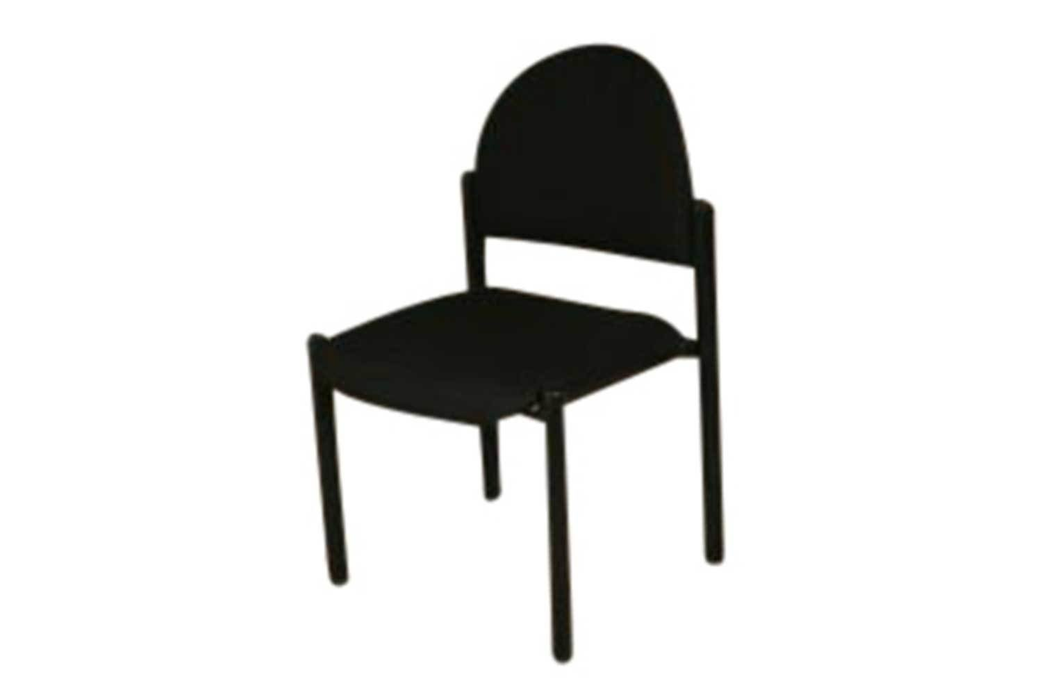 Black Stack Chair 3130