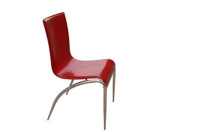 Chrome Red Chair