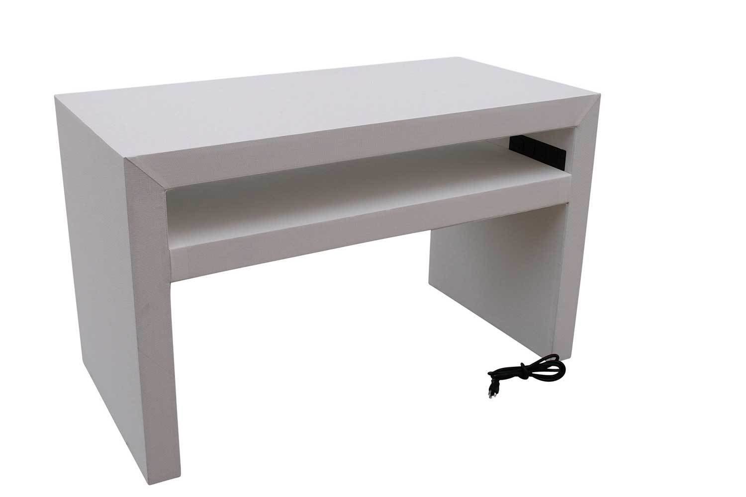 White Charging Console Table 5214