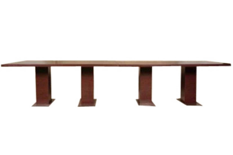 12' Mahogany Conference Table