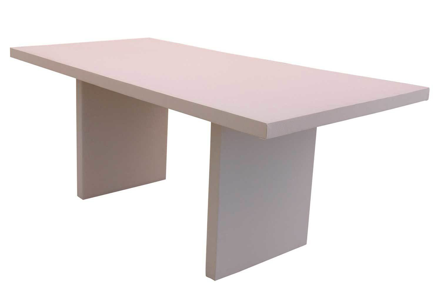 White 6' Conference Table