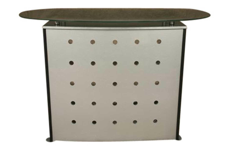 Silver Circle Bar 5405