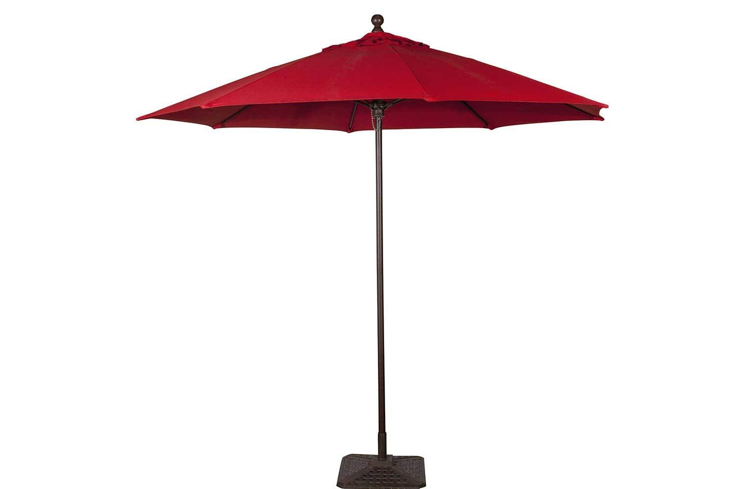 Red Umbrella with Base 6103