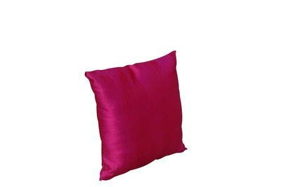 Pillow-Fuchsia Satin