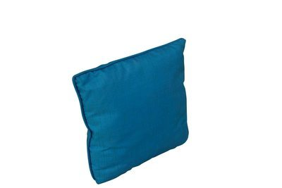 Pillow-Turquoise Silk