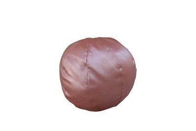 Pillow-Metallic Peach Ball