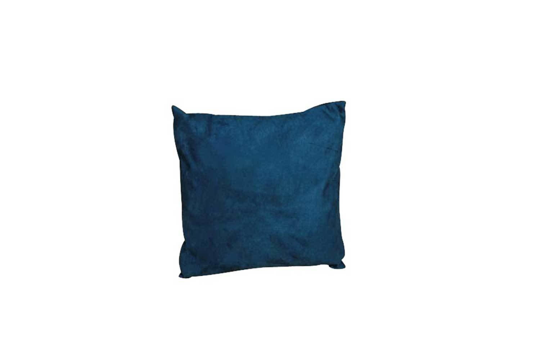 Pillow-Blue Suede 6431