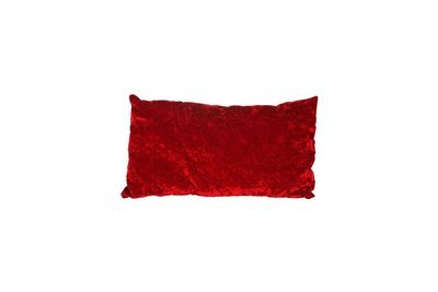 Pillow-Red Velvet Lumbar