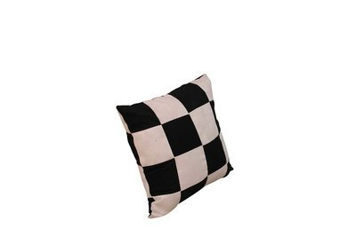 Pillow - Black and White Checker
