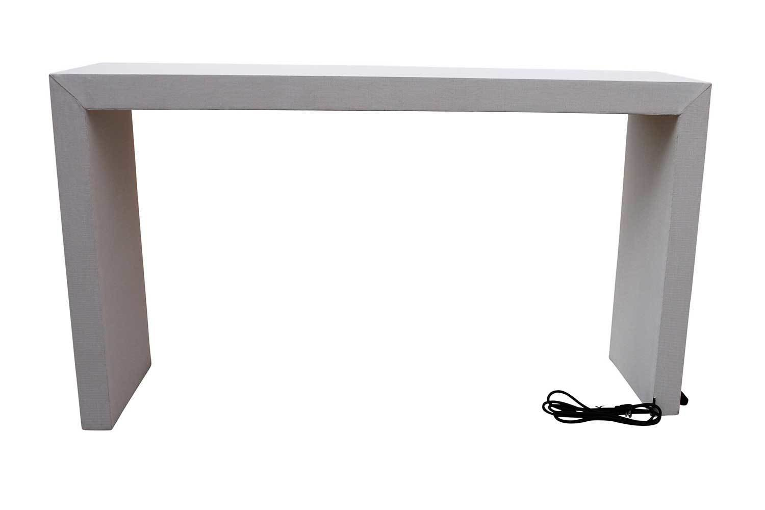 Charging Bar Height Waterfall Table | Shop Furniture