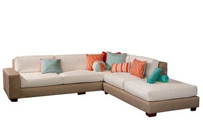 Plush Sectional With Chaise