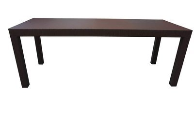 Oversized  Parsons Dining Table