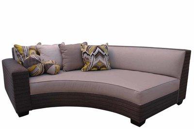Circular Armed Sofa