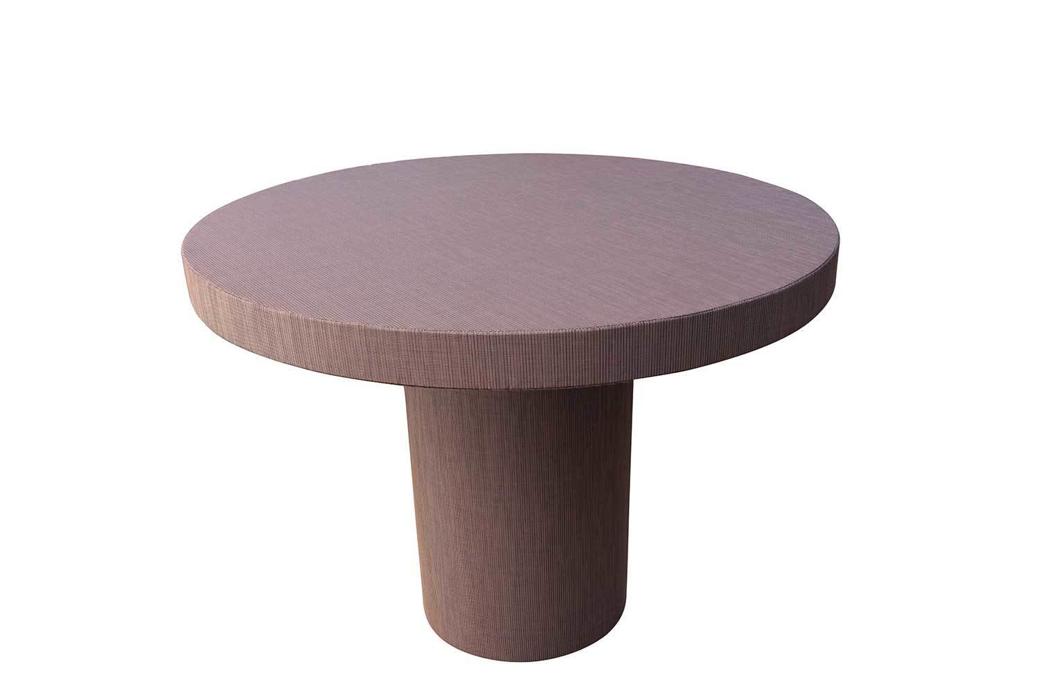 Round Pedestal Dining Table 8244