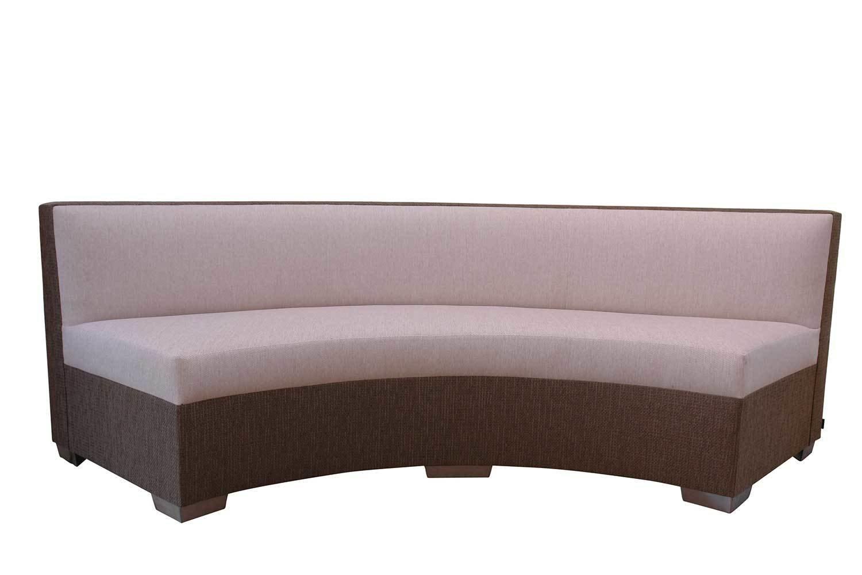 Curve Armless Sofa 8264