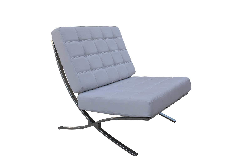 White Square Chair 1237